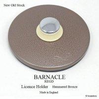 NOS BARNACLE TAX DISC HOLDER Hammered Bronze/バーナクル タックスディスクホルダー ハンマードブロンズ デッドストック