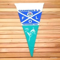 THE CAMPING CLUB OF GREAT BRITAIN 1981 GRAMPIAN D.A./ペナント フラッグ グランピアン