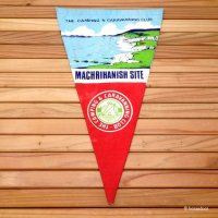 THE CAMPING AND CARAVANNING CLUB MACHRIHANISH SITE/ぺナント フラッグ マックリアニッシュ