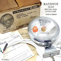 NOS RAYDYOT DL200 FOG LAMP AMBER BLUB/レイヨット フォグランプ アンバーバルブ デッドストック BOX