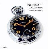 1960's INGERSOLL POCKET WATCH/インガーソルト 懐中時計 ミリタリー