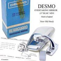 NOS DESMO OVERTAKING MIRROR for MINI/デスモ オーバーテイキングミラー CONVEX ミニ用 デッドストック 箱付