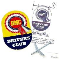 NOS 1950-60's ORIGINAL BMC DRIVERS' CLUB GREELE BADGE/BMC ドライバーズ クラブ グリルバッジ デッドストック