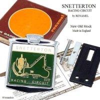 SNETTERTON RACING CIRCUIT by RENAMEL/スネッタトーン カーバッジ デッドストック オリジナルBOX