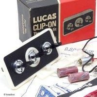 NOS LUCAS CLIP-ON Illmination Switch Panel/ルーカス クリップオン イルミネーション スイッチパネル BOX デッドストック 完品