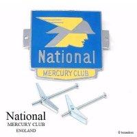 NOS 1960's National MERCURY CLUB GRILLE BADGE/ナショナル マーキュリークラブ グリルバッジ デッドストック
