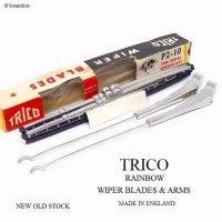 NOS 1959-60 BMC MINI TRICO RAINBOW WIPER BLADES & ARMS SET/トリコ レインボー ワイパーブレード & アーム  セット デッドストック