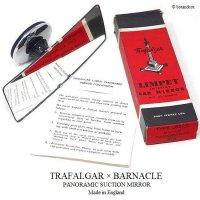 NOS TRAFLGAR X BARNACLE PANORAMIC SUCTION MIRROR/トラファルガー X バーナクル パノラマ ワイドミラー   デッドストック