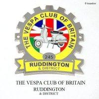 THE VESPA CLUB OF BRITAIN RUDDINGTON & DISTRICT COG/ベスパクラブ ラディントン COGバッジ 新品