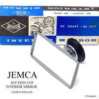 NOS JEMCA SUCTION CUP INTERIOR MIRROR/ルーム・サブミラー デッドストック オリジナルBOX