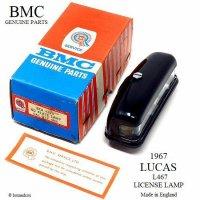 NOS 1967 BMC LUCAS L467 LICENSE LAMP/1967年製 BMC純正 ルーカス ライセンスランプ デッドストック BOX
