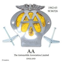 当時物 オリジナル AA グリル バッジ 9C06526 (1962-1963)