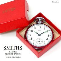 1950's SMITHS EMPIRE POCKET WATCH/スミス エンパイア 懐中時計 SV オリジナルBOX