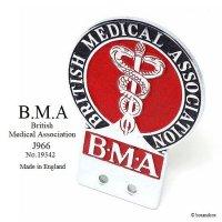 1950-60's BMA British Medical Association/英国医師会 メンバーズ カーバッジ No.19342 J966