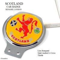 NOS VINTAGE SCOTLAND CAR BADGE by RENAMEL/スコットランド カーバッジ RENAMEL製 デッドストック