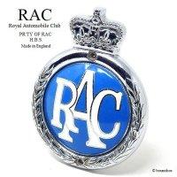 1950's RAC/Royal Automobile Club グリルバッジ 七宝 エナメル フィティング付属