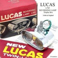 NOS LUCAS L785 REVERSING LAMP DISPLAY BOX/ルーカス リバーシングランプ デッドストック ディスプレイBOX