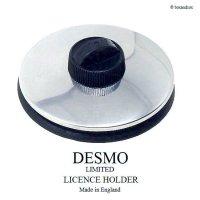 DESMO TAX DISC HOLDER/デスモ タックスディスクホルダー SV×BK