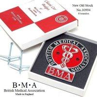 NOS 1950-60's BMA British Medical Association/英国医師会 メンバーズ グリルカーバッジ No.30994 デッドストック