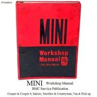 1960'S BMC MINI Workshop Manual/ミニ ワークショップ マニュアル