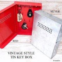 VINTAGE STYLE TIN KEY BOX/ビンテージスタイル ブリキ キーボックス