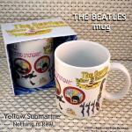 ビートルズ マグカップ イエローサブマリン ホワイト / THE BEATLS MUG Yellow Submarine White