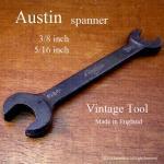 英国製 Austin オースチン ビンテージ ツール スパナ 3/8 - 5/16 �