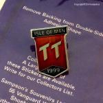 1999年 Isle of man TT レース ピンバッジ ピンズ