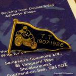 1907-1986年 ACU Isle of man TT ピンバッジ