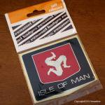 ISLE OF MAN マン島 ハードタイプ ステッカー