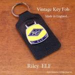 英国製  ビンテージ キーホルダー Riley ELF  ライレー デッドストック