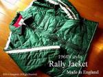 1960's style ラリージャケット コート Les Leston 英国製 <ブリティシュグリーン>