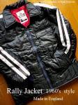 1960's style ラリージャケット コート Les Leston 英国製 <レーシングブラック>