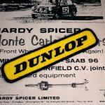 DUNLOP  ダンロップ 60's レタード ワッペン イエロー