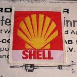 SHELL/シェル クラッシック ロゴ ワッペン デッドストック