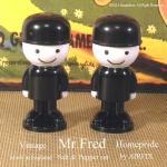 ビンテージ フレッド君 ソルト&ペッパーSET  Homepride Mr.FRED AIRFIX製