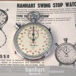 貴重!Hanhart Sportcraft Timer/ハンハルト ビンテージ ストップウォッチ  レス・レストン