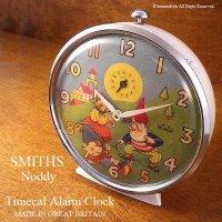 貴重!1970年代 SMITHS Timecal Noddy /スミス ノディ 目覚まし時計