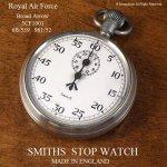 貴重!1940-1960年代 SMITHS military Royal Air Force /スミス 英国空軍 ストップウォッチ 旧ロゴ