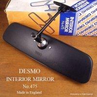 希少!当時物 DESMO/デスモ No.475 インテリア ルームミラー デッドストック 箱付