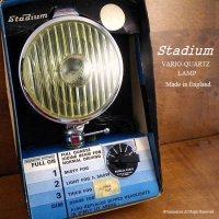 超レア!当時物 Stadium VARIO-QUARTZ LAMP/スタジアム 調光 イエローフォグランプ デッドストック 箱付