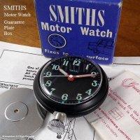 貴重!SMITHS/スミス Motor Watch BK マグネット付 BOX ミントコンディション(デッドストック)