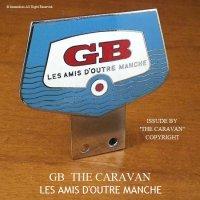50-60年代 GB THE CARAVAN LES AMIS D'OUTRE MANCHE カーバッジ