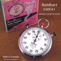 貴重!Hanhart AMIGO/ハンハルト アミーゴ ストップウォッチ BOX付 レス・レストン