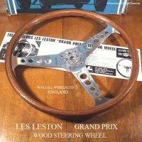 希少!当時物 LES LESTON GP/レスレストン グランプリ ウッド ステアリング