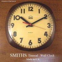 1970's SMITHS Timecal Wall Clock/スミス ウォールクロック 壁掛け時計 BR