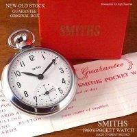 超貴重!NOS 1960's SMITHS 懐中時計 ギャランティー・BOX付 デッドストック