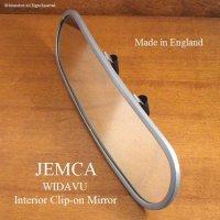 当時物 英国 JEMCA インテリア クリップオン ワイドミラー デッドストック