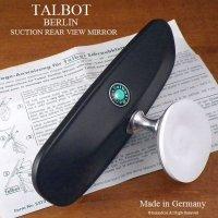 貴重!TALBOT BERLIN SUCTION REAR VIEW MIRROR/タルボット ベルリン サクション リアビューミラー デッドストック