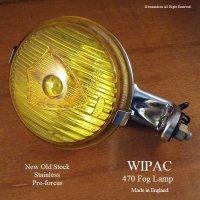 1960's WIPAC 470 Fog Lamp Yellow/ワイパック 470 フォグランプ イエロー デッドストック